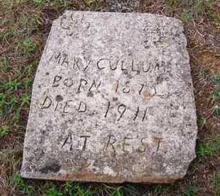 CULLUM, MARY - Van Buren County, Arkansas   MARY CULLUM - Arkansas Gravestone Photos