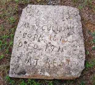 CULLUM, MARY - Van Buren County, Arkansas | MARY CULLUM - Arkansas Gravestone Photos