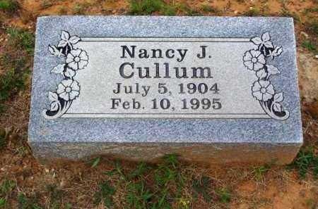 CULLUM, NANCY J - Van Buren County, Arkansas | NANCY J CULLUM - Arkansas Gravestone Photos