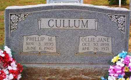 CULLUM, OLLIE JANE - Van Buren County, Arkansas | OLLIE JANE CULLUM - Arkansas Gravestone Photos