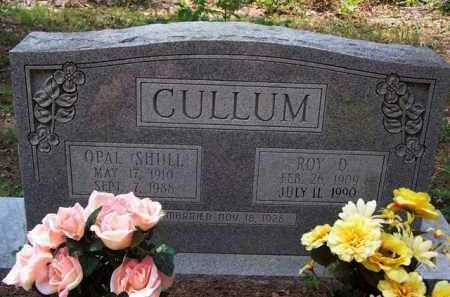 SHULL CULLUM, OPAL - Van Buren County, Arkansas   OPAL SHULL CULLUM - Arkansas Gravestone Photos
