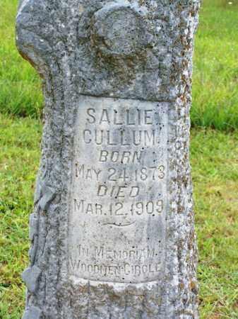 CULLUM, SALLIE - Van Buren County, Arkansas | SALLIE CULLUM - Arkansas Gravestone Photos