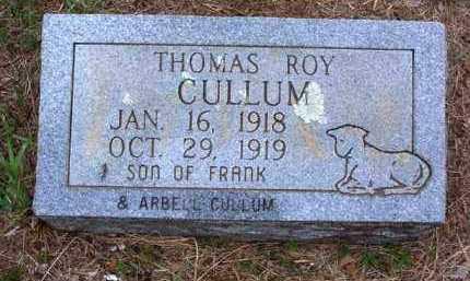 CULLUM, THOMAS ROY - Van Buren County, Arkansas | THOMAS ROY CULLUM - Arkansas Gravestone Photos