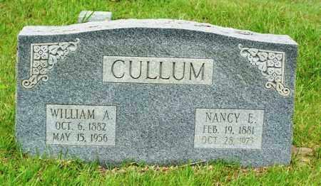 CULLUM, NANCY E - Van Buren County, Arkansas | NANCY E CULLUM - Arkansas Gravestone Photos