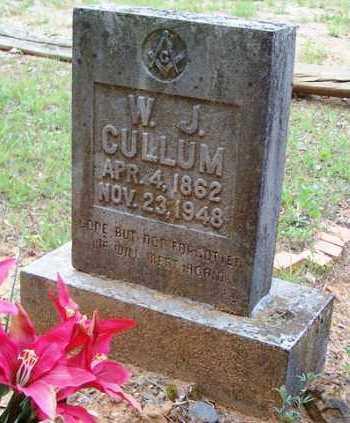 CULLUM, WILLIAM JEFFERSON - Van Buren County, Arkansas   WILLIAM JEFFERSON CULLUM - Arkansas Gravestone Photos