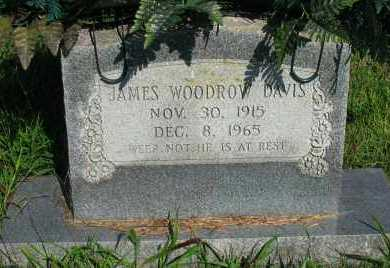 DAVIS, JAMES WOODROW - Van Buren County, Arkansas | JAMES WOODROW DAVIS - Arkansas Gravestone Photos