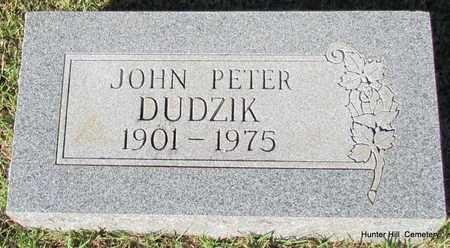 DUDZIK, JOHN PETER - Van Buren County, Arkansas | JOHN PETER DUDZIK - Arkansas Gravestone Photos