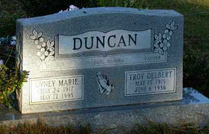 DUNCAN, TROY DELBERT - Van Buren County, Arkansas | TROY DELBERT DUNCAN - Arkansas Gravestone Photos