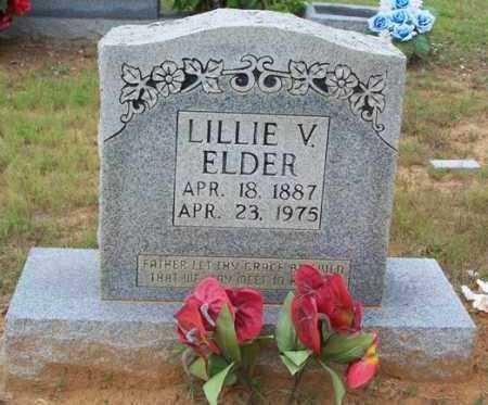 ELDER, LILLIE V - Van Buren County, Arkansas | LILLIE V ELDER - Arkansas Gravestone Photos