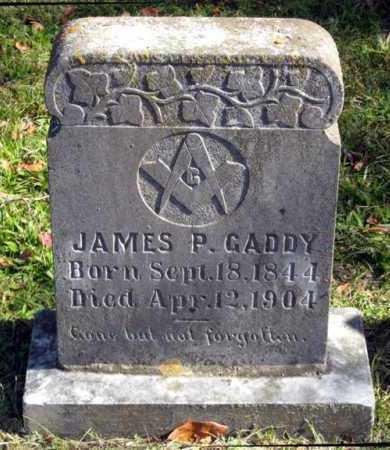 GADDY, JAMES P - Van Buren County, Arkansas | JAMES P GADDY - Arkansas Gravestone Photos