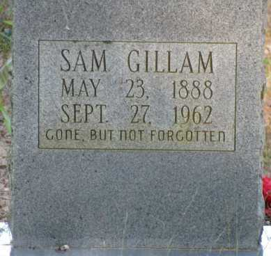 GILLAM, SAM - Van Buren County, Arkansas | SAM GILLAM - Arkansas Gravestone Photos