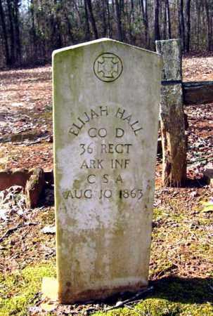 HALL (VETERAN CSA), ELIJAH - Van Buren County, Arkansas | ELIJAH HALL (VETERAN CSA) - Arkansas Gravestone Photos