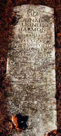 HARMON  (VETERAN WWI), JONAH LIONEL - Van Buren County, Arkansas   JONAH LIONEL HARMON  (VETERAN WWI) - Arkansas Gravestone Photos
