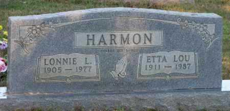 HARMON, LONNIE - Van Buren County, Arkansas | LONNIE HARMON - Arkansas Gravestone Photos