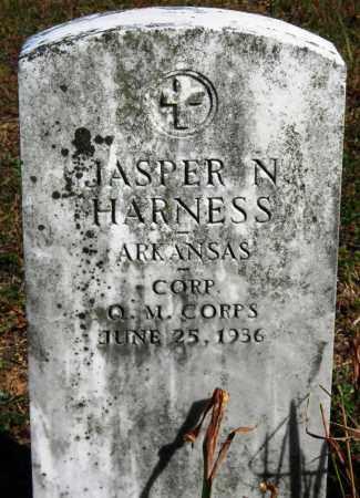 HARNESS  (VETERAN), JASPER N - Van Buren County, Arkansas   JASPER N HARNESS  (VETERAN) - Arkansas Gravestone Photos