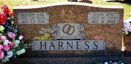 BONDS HARNESS, ZONA MAE - Van Buren County, Arkansas | ZONA MAE BONDS HARNESS - Arkansas Gravestone Photos
