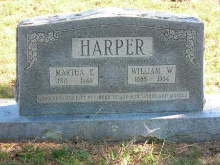 HARPER, WILLIAM W. - Van Buren County, Arkansas | WILLIAM W. HARPER - Arkansas Gravestone Photos
