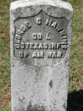 HAWKINS  (VETERAN SAW), GEORGE G - Van Buren County, Arkansas   GEORGE G HAWKINS  (VETERAN SAW) - Arkansas Gravestone Photos