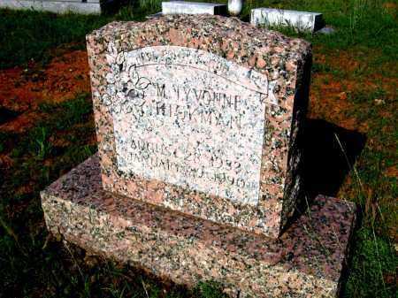 HICKMAN, M  LYVONNE - Van Buren County, Arkansas | M  LYVONNE HICKMAN - Arkansas Gravestone Photos