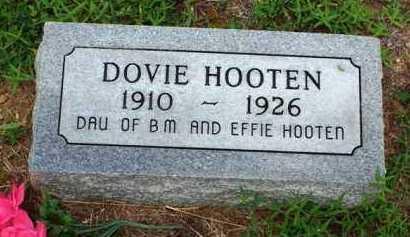 HOOTEN, DOVIE - Van Buren County, Arkansas | DOVIE HOOTEN - Arkansas Gravestone Photos
