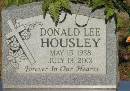 HOUSLEY, DONALD LEE - Van Buren County, Arkansas   DONALD LEE HOUSLEY - Arkansas Gravestone Photos