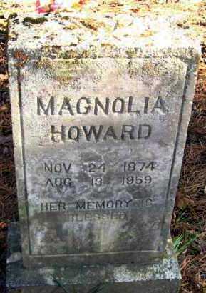 HOWARD, MAGNOLIA - Van Buren County, Arkansas   MAGNOLIA HOWARD - Arkansas Gravestone Photos