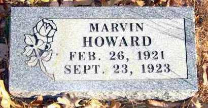 HOWARD, MARVIN - Van Buren County, Arkansas   MARVIN HOWARD - Arkansas Gravestone Photos