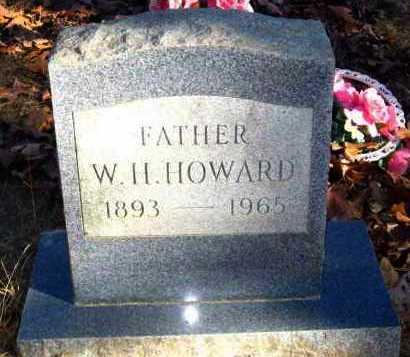 HOWARD, W H - Van Buren County, Arkansas | W H HOWARD - Arkansas Gravestone Photos