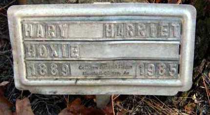 HOXIE, MARY HARRIET - Van Buren County, Arkansas | MARY HARRIET HOXIE - Arkansas Gravestone Photos