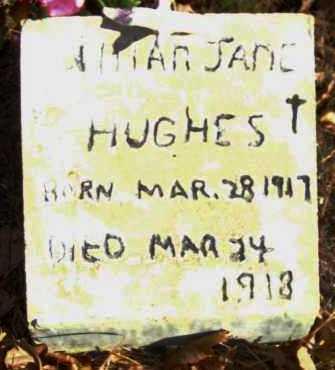 HUGHS, LILLIAN JANE - Van Buren County, Arkansas | LILLIAN JANE HUGHS - Arkansas Gravestone Photos
