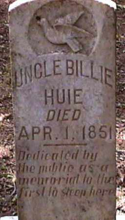 HUIE, BILLIE - Van Buren County, Arkansas | BILLIE HUIE - Arkansas Gravestone Photos