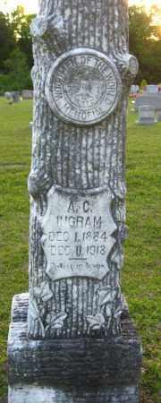 INGRAM, A C - Van Buren County, Arkansas   A C INGRAM - Arkansas Gravestone Photos