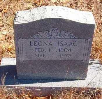 ISAAC, LEONA - Van Buren County, Arkansas | LEONA ISAAC - Arkansas Gravestone Photos