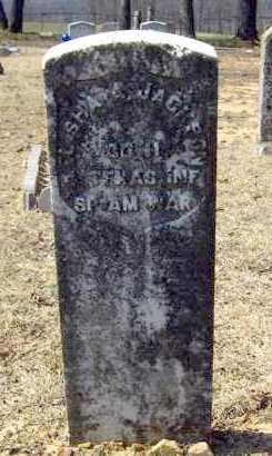 JACKSON (VETERAN SAW), ELISHA A. - Van Buren County, Arkansas | ELISHA A. JACKSON (VETERAN SAW) - Arkansas Gravestone Photos