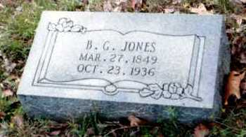 JONES, B G - Van Buren County, Arkansas | B G JONES - Arkansas Gravestone Photos