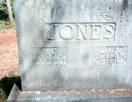JONES, IDA A. - Van Buren County, Arkansas | IDA A. JONES - Arkansas Gravestone Photos