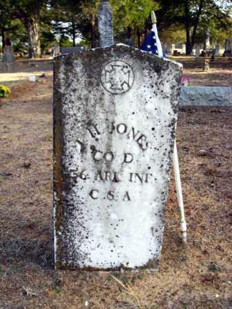 JONES (VETERAN CSA), I  H - Van Buren County, Arkansas   I  H JONES (VETERAN CSA) - Arkansas Gravestone Photos