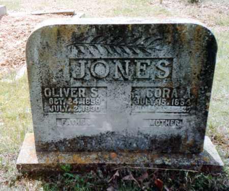 JOHNSON JONES, CORA A - Van Buren County, Arkansas | CORA A JOHNSON JONES - Arkansas Gravestone Photos