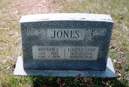 HARNESS JONES, LOUISA JANE - Van Buren County, Arkansas | LOUISA JANE HARNESS JONES - Arkansas Gravestone Photos