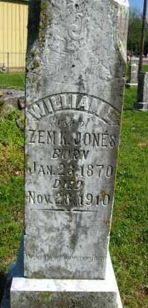 JONES, WILLIAM L - Van Buren County, Arkansas   WILLIAM L JONES - Arkansas Gravestone Photos