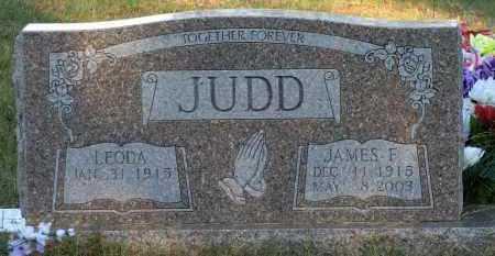 JUDD, JAMES F - Van Buren County, Arkansas | JAMES F JUDD - Arkansas Gravestone Photos