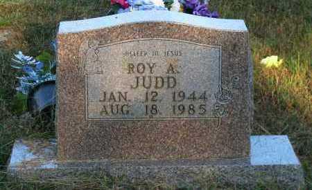 JUDD, ROY A - Van Buren County, Arkansas   ROY A JUDD - Arkansas Gravestone Photos