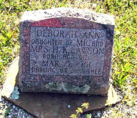 LAWSON, DEBORAH ANN - Van Buren County, Arkansas   DEBORAH ANN LAWSON - Arkansas Gravestone Photos