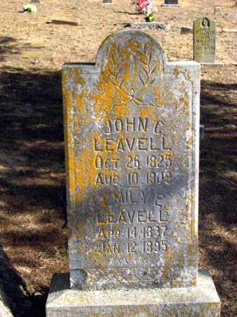 LEAVELL, EMILY E - Van Buren County, Arkansas | EMILY E LEAVELL - Arkansas Gravestone Photos