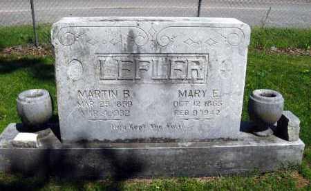 LEFLER, MARTIN B - Van Buren County, Arkansas | MARTIN B LEFLER - Arkansas Gravestone Photos