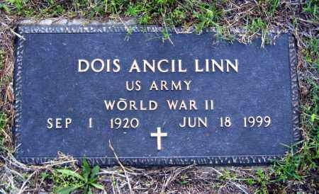 LINN  (VETERAN WWII), DOIS ANCIL - Van Buren County, Arkansas   DOIS ANCIL LINN  (VETERAN WWII) - Arkansas Gravestone Photos