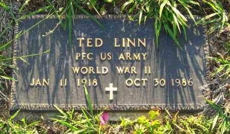 LINN  (VETERAN WWII), TED - Van Buren County, Arkansas | TED LINN  (VETERAN WWII) - Arkansas Gravestone Photos