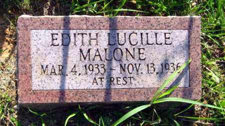 MALONE, EDITH LUCILLE - Van Buren County, Arkansas | EDITH LUCILLE MALONE - Arkansas Gravestone Photos