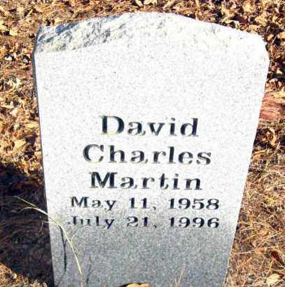 MARTIN, DAVID CHARLES - Van Buren County, Arkansas | DAVID CHARLES MARTIN - Arkansas Gravestone Photos