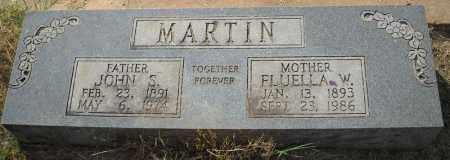 MARTIN, FLUELLA - Van Buren County, Arkansas   FLUELLA MARTIN - Arkansas Gravestone Photos